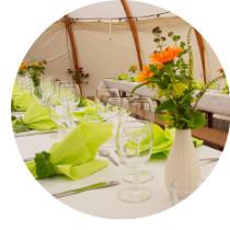 Kientalerhof Newsletter gedeckter Tisch