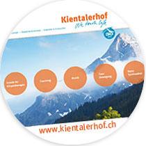 Website www.kientalerhof.ch